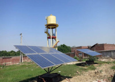 Multi village water distribution system solar based in Distt Kannoj UP