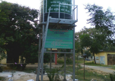 Solar based safe drinking water system was installed in Govt School under MP-LED funds