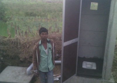 Under Rural Sanitation scheme 100 toilets were made through the sponsorship given by MoDWS  Government of India