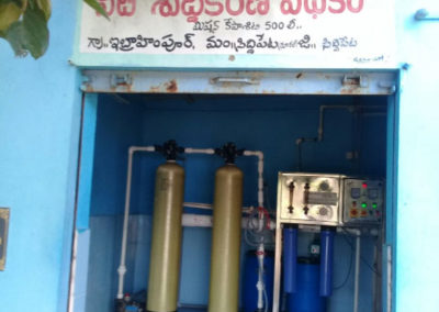 Water ATM solar based RO Plant for safe drinking water